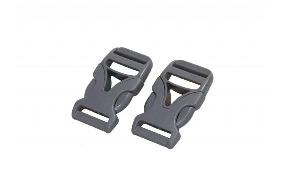 2er Set 25mm DURAFLEX® Steckverschluss Schnalle