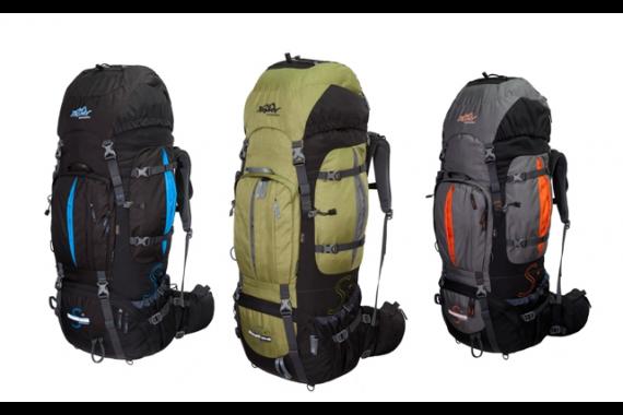 XXL Trekkingrucksack 100L + 20L TASHEV MOUNT S+ aus CORDURA®  inkl. Regenhülle