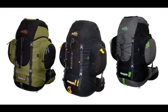 Trekkingrucksack / Wanderrucksack TASHEV TRACKER 55 + 8 vollständig aus CORDURA®