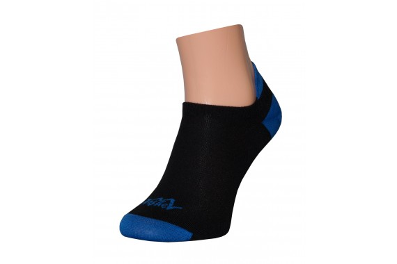 Sportsocken Tashev Multisport Mini Ultralight (Schwarz & Blau)