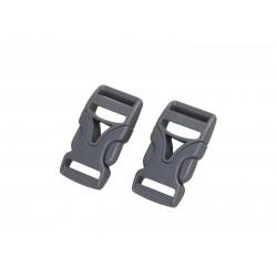 2er Set 20mm DURAFLEX® Steckverschluss Schnalle