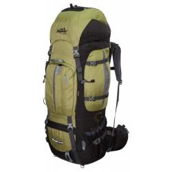 XXL Trekkingrucksack 100L + 20L TASHEV MOUNT S+ aus Cordura® inkl. Regenhülle (Grün)