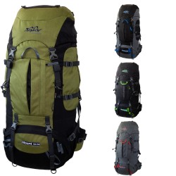 Trekkingrucksack Mount 60 + 10 aus Cordura