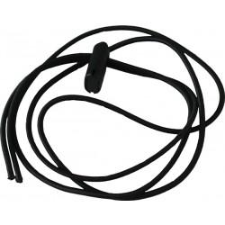 3mm x 120cm Gummischnur Kordel mit DURAFLEX® Kordelstopper