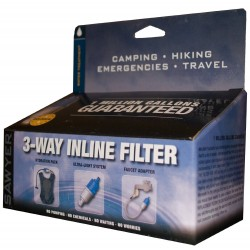 Sawyer SP122 3-Way Inline Wasserfilter